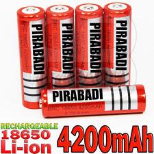 5 PILES ACCU RECHARGEABLE BRC 18650 LI-ION 3.7v 4200mAH BATTERY BATTERIE • PRO •