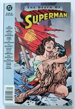 The Death of Superman DC NEW Graphic Novel Comic Book