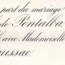 Michel Delfau De Pontalba Mont-l'Eveque Senlis 1884