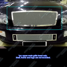 Fits 04-10 Infiniti QX56 Stainless Steel Mesh Grille Insert