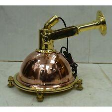 Nautical Marine Brass & Copper Pendant Spot Light