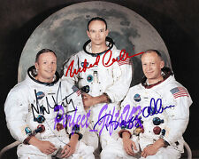 Apollo 11 Armstrong Aldrin Collins Signed Autographed 10x8 Repro Photo Print