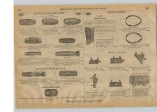 1915 PAPER AD Rugby Bicycle Motorcycle Handle Bar Grip Tool Bag Handle Bars