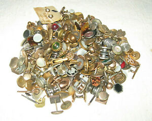 Large Lot of Vintage / Antique MEN'S CUFF LINK'S............Men's Jewelry