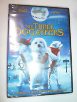 The Three Dogateers DVD family movie Christmas holiday westie dogs cute NEW!