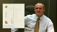 House of Cards Brockhart Colm Feore Production Used Resignation Letter July (A)