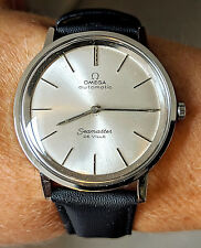 Gents Swiss 1966 SS OMEGA Seamaster DeVille c711 24J Automatic Watch Serviced