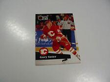 Gary Suter 1991 NHL Pro Set (French) card #32