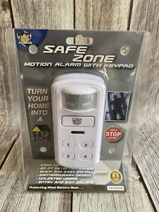 Streetwise SafeZone Motion Activated Alarm/Keypad - Announce Customers Entrance