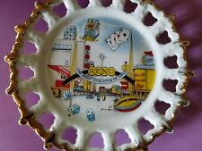 Collectible, Vintage, Souvenir Reno Plate; Biggest Little City In The World