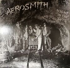 Aerosmith Night In The Ruts 9 Track Vinyl LP Rock/Heavy Metal