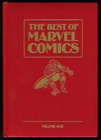 Best of Marvel Comics Vol 1 Leather Hardcover HC Spider-Man Wolverine Thor Rare