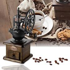 Vintage Manual Coffee Grinder Wheel Design Coffee Bean Hand Mill Grinding Retro