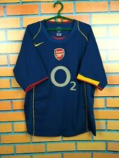 Arsenal jersey 2004 2005 Away L Shirt Nike Football Soccer