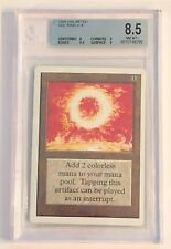 Magic The Gathering Unlimited Edition Sol Ring Beckett Graded