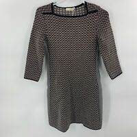 NWT Tory Burch Shadow Mixed Geo Jacquard Dress