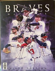 2019 ATLANTA BRAVES YEARBOOK MLB BASEBALL PROGRAM WORLD SERIES CHAMPIONS