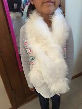 NEW Gymboree Dressed up White Faux Fur Scarf Dressy Scarf