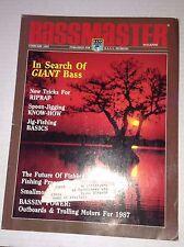 Bassmaster Magazine Spoon Jigging Know How February 1987 111916RH