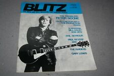 BLITZ THE R´n´ROLL MAG FOR THINKING PEOPLE# 40  -  PETER NOONE COVER (1981)