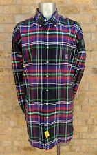 Men's Cinch Western Button Down Shirt XXL 2XL Multi-colored Plaid L/S Shirt