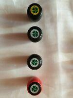 Pomelli Cambio in pelle NUOVI vari loghi per auto vintage