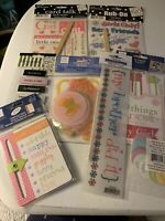 New NIP me & my big ideas MAMBI Girl Baby Label Stickers Transfer Rub On Lot