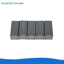 5PCS Extruded PCB Aluminum Box Black Enclosure Case Project Box Black 50*25*25mm