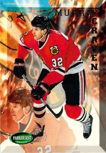 1995-96 Parkhurst NHL Ice Hockey Murray Craven Card #313 Chicago Blackhawks LW