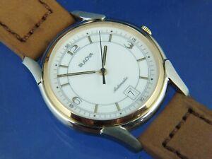 Bulova Automatic Watch NOS Vintage Circa 1990s Swiss New Old Stock ETA 2892-A2