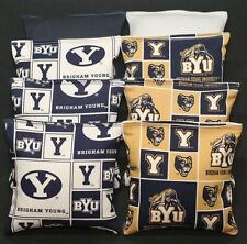 All Weather Byu Brigham Young Cougars 8 Cornhole Bean Bags Resin Waterproof