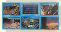 Vintage COMPLETE Collection Greek Safety Matches Spanish Box Monuments Parthenon