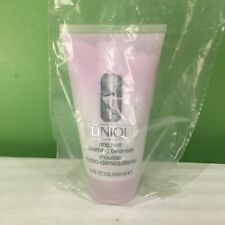 New Clinique Rinse Off Foaming Cleanser Mousse 5 Oz Full Size New Batch