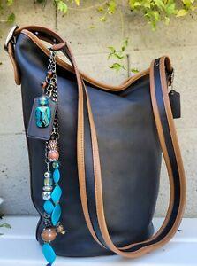 Coach 75th Anniversary Duffle Shoulder Bag Glovetanned Calf Leather F57458 purse