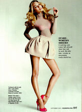 2009 magazine AD, LOUIS VUITTON Sheer Top and Bra sexy model long legs  072214