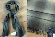 Ralph Lauren Made in ITALY OMBRE HTHR OMBREPLAID PLAID-OLIVE SCARF... Great Gift