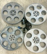 VINTAGE 35MM 2000 FT. 14.5 INCH METAL MOVIE THEATER FILM REEL MADE IN USA C