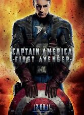 Captain America movie poster - 12 x 17 inches - Chris Evans poster (french)