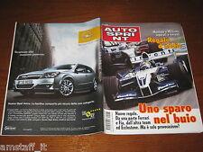 AUTOSPRINT 2004/43=GP F1 BRASILE=MONTOYA=TEST ALFA ROMEO 147=SAINZ RITIRO RALLY