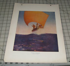 """Prince Codadad"" MAXFIELD PARRISH American Art by American Artists 1 Page Print"