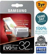 Samsung EVO MB-MC32 DA/AM Plus 32GB U1 Micro SD Card With Adapter