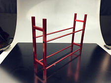 Metal RC Truck Tyre Rack for 1/10 Wheel Rims Tire RC4WD SCX10 D90 CC01 Red