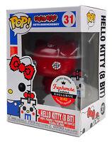 Funko Pop #31 Red Diamond Hello Kitty 8 Bit Funhouse Custom Exclusive 1 of 20