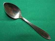 Bridal Wreath silverplate oneida Demi Demitasse Coffee Spoon (S)