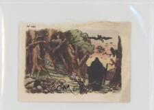 1939 Chocolat Menier Blanche-Neige et les Sept Nains #140 Evil Witch Card k5c