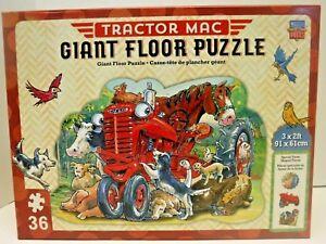 Tractor Mac 3' x 2' 36 Piece Giant Floor Puzzle
