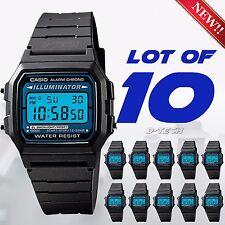 Lot Of 10 x Casio F105W1A Men Sport Digital Watch Water Resistant Auto Calendar
