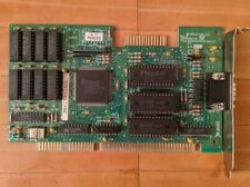 Trident TVGA8900C ISA graphics card 1991 1Mb tested working!