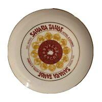 "Vintage Del Webb's 10"" Sahara Tahoe Hotel & Casino Zodiac Year of Pig Plate"
