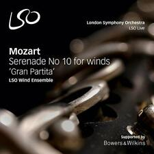 LSO Wind Ensemble - Mozart: Gran Partita; Serenade No. 10 For Winds K (NEW SACD)